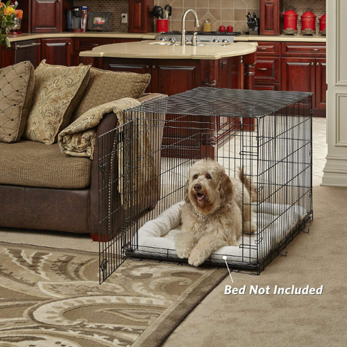 Dog Training Crate with fitted pad